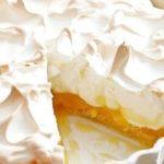 82609 ЛИМОННЫЙ ПИРОГ – БЕЗЕ: красивый и простой в приготовлении пирог к чаю