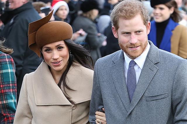 81163 Меган Маркл и принц Гарри попали в забавную ситуацию во время покупки рождественской елки