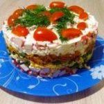 """82671 Необычный рецепт """"Крабового салата"""" для новогоднего стола"""