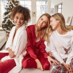 83698 Остаемся зимовать: выбираем домашнюю одежду и белье для праздничных каникул в новых лукбуках