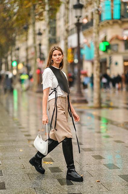 Съемка street style