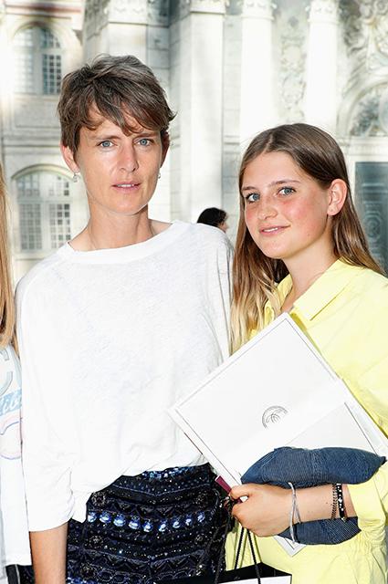 Стелла Теннант с дочерью Жасмин