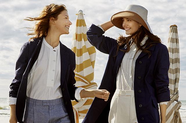 Спорт и морская романтика: смотрим на модные коллаборации в новых лукбуках