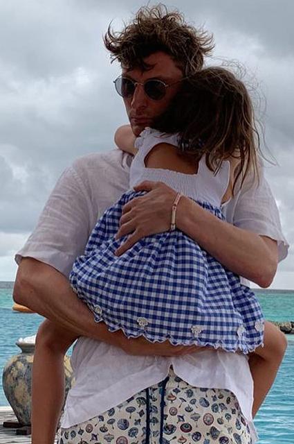 Павел Воля с дочерью Софией