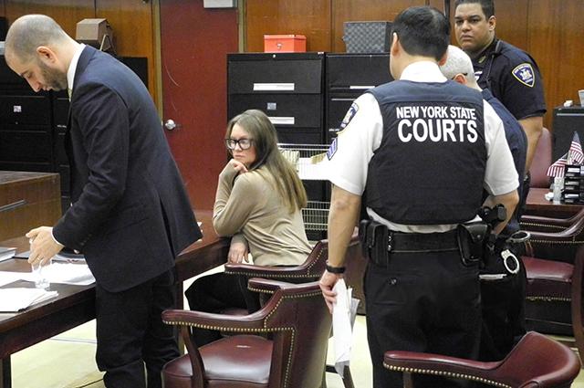 Анна Сорокина в суде
