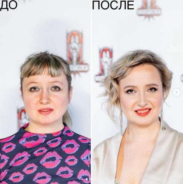 Одно из самых удачных преображений: новая прическа и макияж превратили 36-летнюю Наталью в красотку