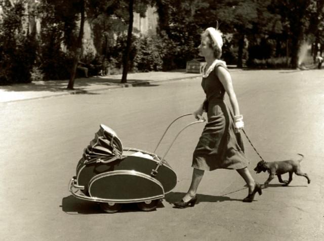 88318 Странные и даже страшные детские коляски и колыбельки из прошлого