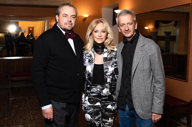 Олег и Виктория Шеляговы и Константин Богомолов