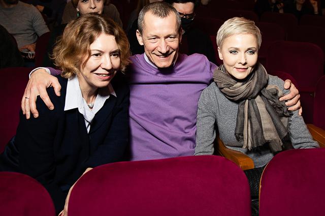 Валерия Роднянская, Андрей Шаронов и Дарья Повереннова