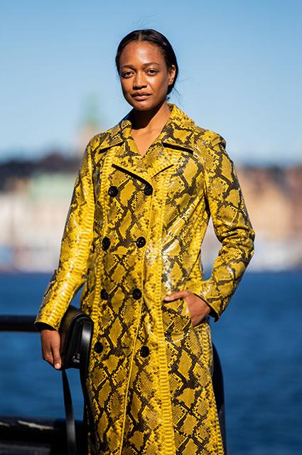 Гостья Недели моды в Копенгагене