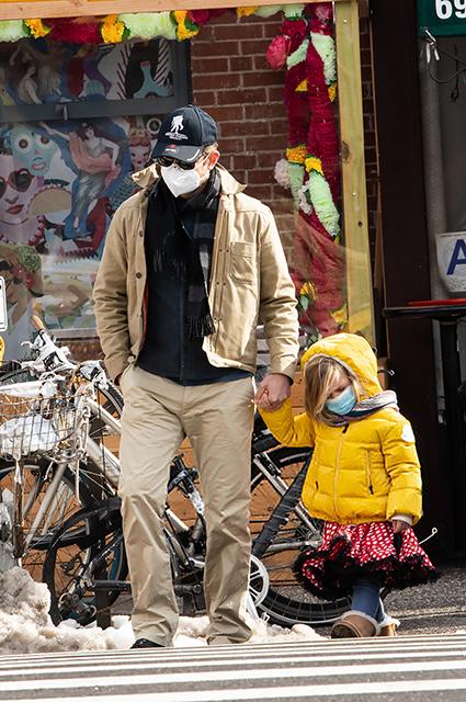 Брэдли Купер с дочерью Леей