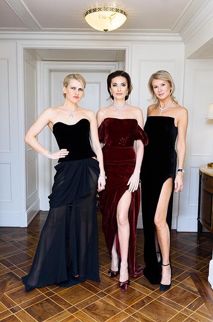 Полина Киценко, Снежана Георгиева и Виктория Борисевич