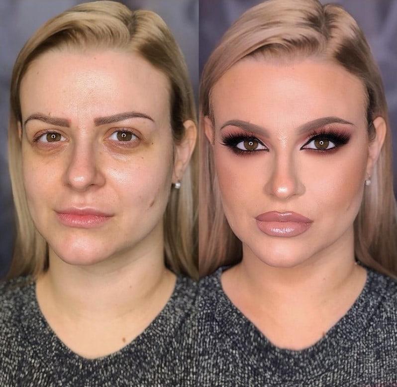Визажист из Сербии превращает своих клиенток в невероятных красавиц
