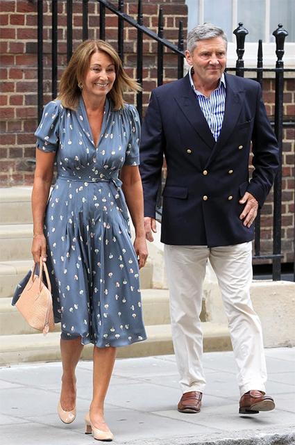 Кэрол Миддлтон с мужем Майклом