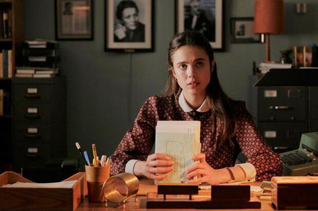 """Маргарет Куэлли. Кадр из фильма """"Мой год в Нью-Йорке"""""""
