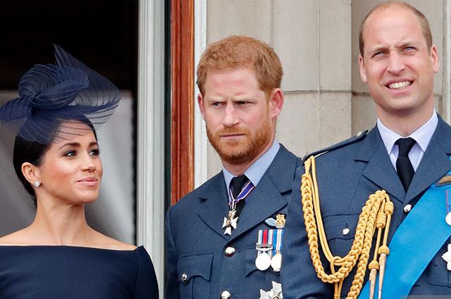 """""""Мы не расисты"""": принц Уильям прокомментировал интервью Меган Маркл и принца Гарри"""