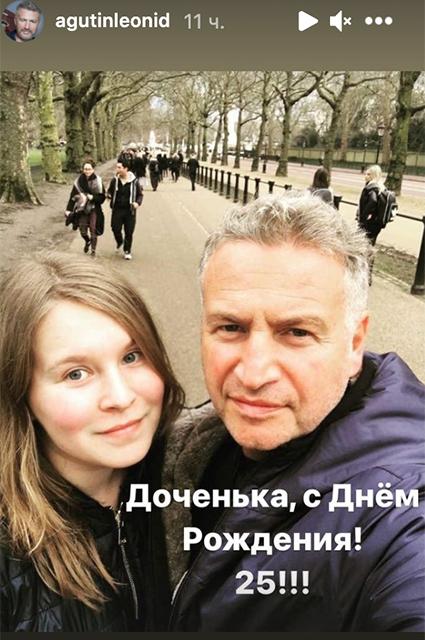 Леонид Агутин с дочерью Полиной