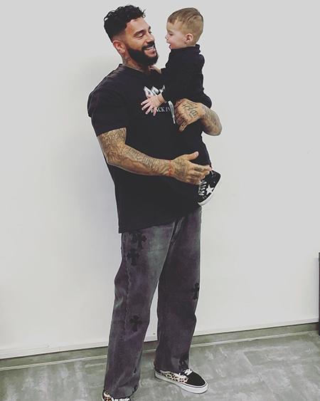 Тимати с сыном