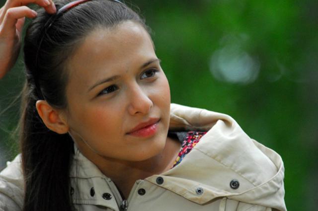 Любовь Аксенова в юности