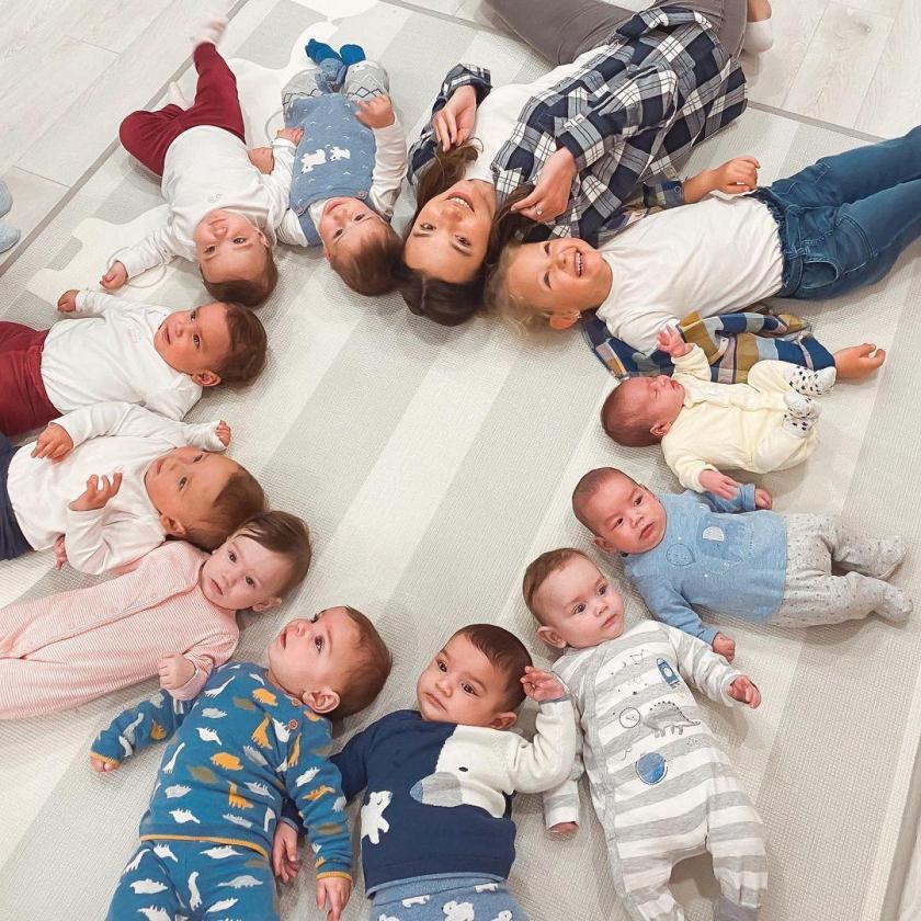 23-летняя Кристина является мамой 11 детей и в планах еще больше…