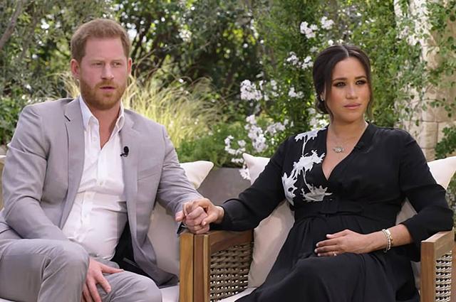 94811 Интервью Меган Маркл и принца Гарри: о суицидальных мыслях, расизме и конфликтах в королевской семье.