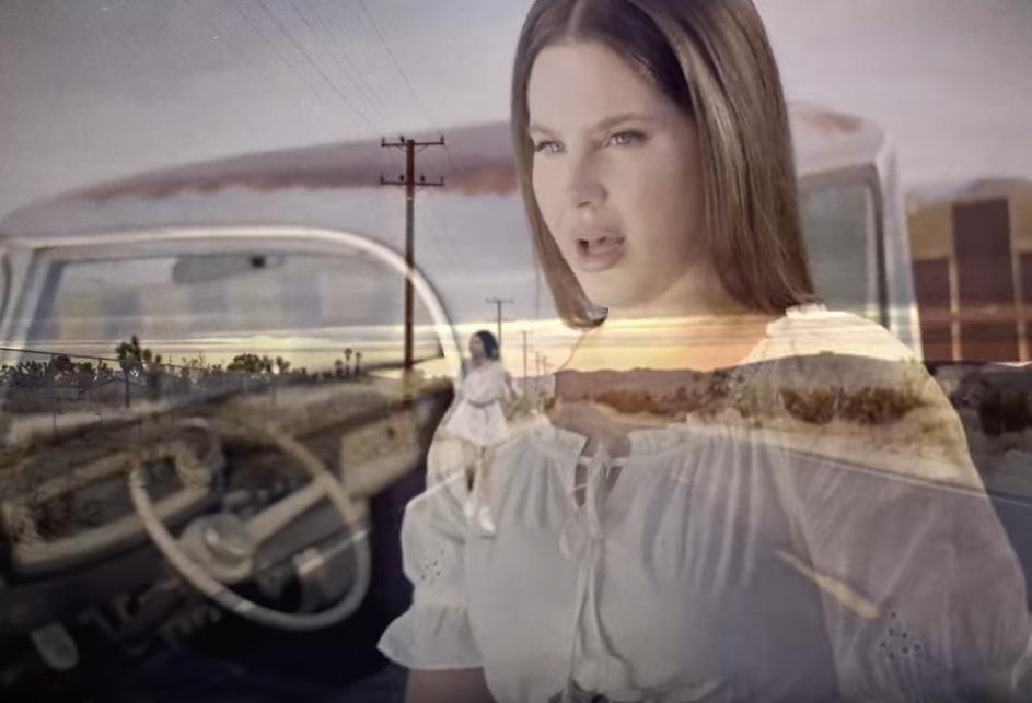 96550 Lana Del Rey — White Dress, новый клип