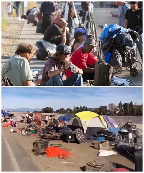 96236 В Америке для бездомных есть дома, в которых можно жить бесплатно, но с определенным условием