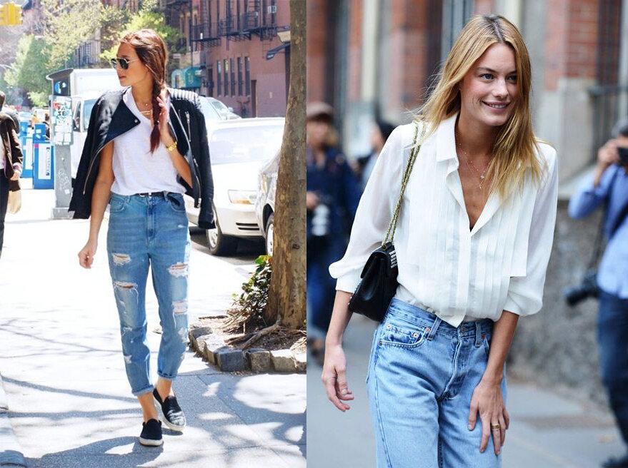 97342 С чем носить винтажные «мамины» джинсы из 1990-х
