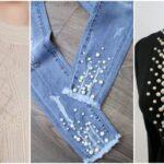 97281 Жемчуг на одежде — самый модный тренд весеннего сезона