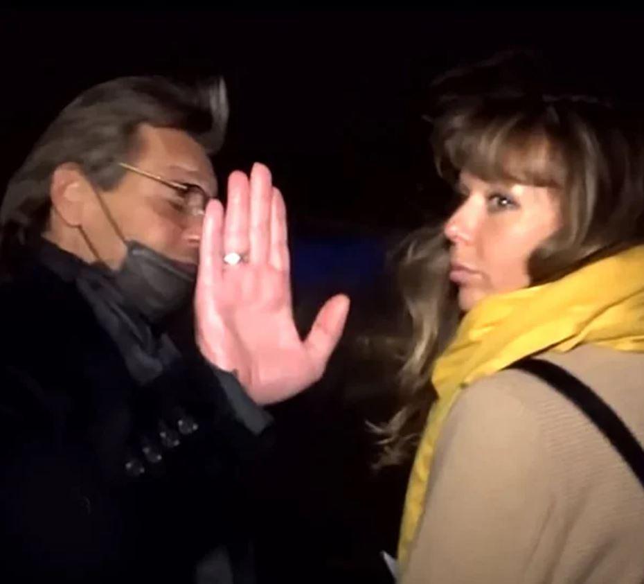 Домогаров женился на своей возлюбленной, которая годится ему в дочери
