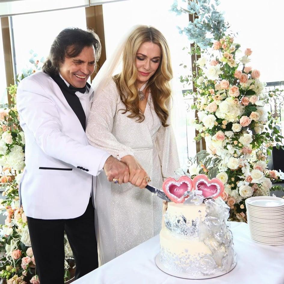 Первые кадры со свадьбы 54-летней Сумской появились в Сети