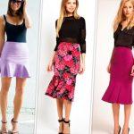 99653 Что такое юбка Годе и с чём её носить