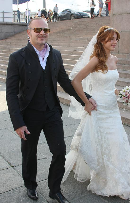 99223 Эксклюзивные свадебные фото наших знаменитостей