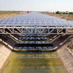 99882 Ученый прорыв: установка солнечных электростанций над водными каналами, поможет сохранить запасы пресной воды и даст чистую энергию