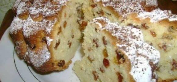 99892 Удивительно вкусный и простой в приготовлении сметанный кекс с изюмом