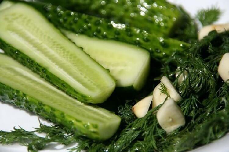 100048 Малосольные огурцы за 5 минут и идеи оформления овощной нарезки