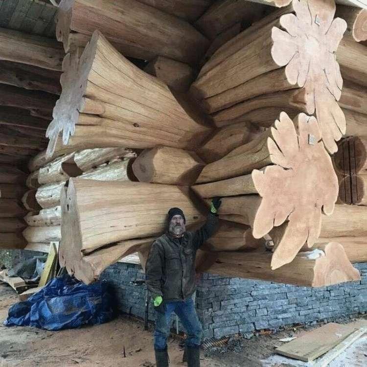 101930 20 сказочно красивых срубов и слэбов: деревянная фантастика от мастеров своего дела